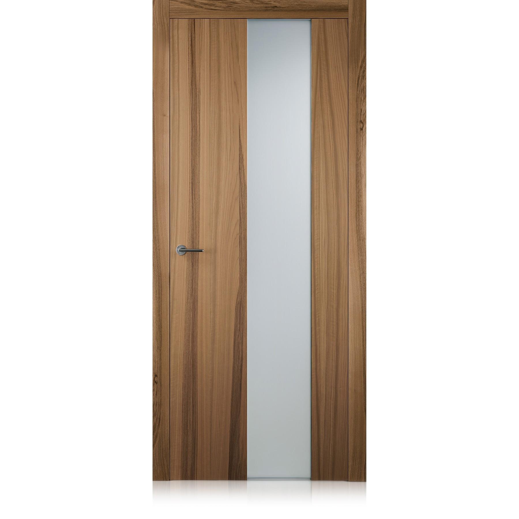 Porta Exitlyne Vetro noce natural touch