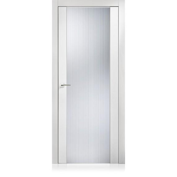 Porte Glass Textures Bianco