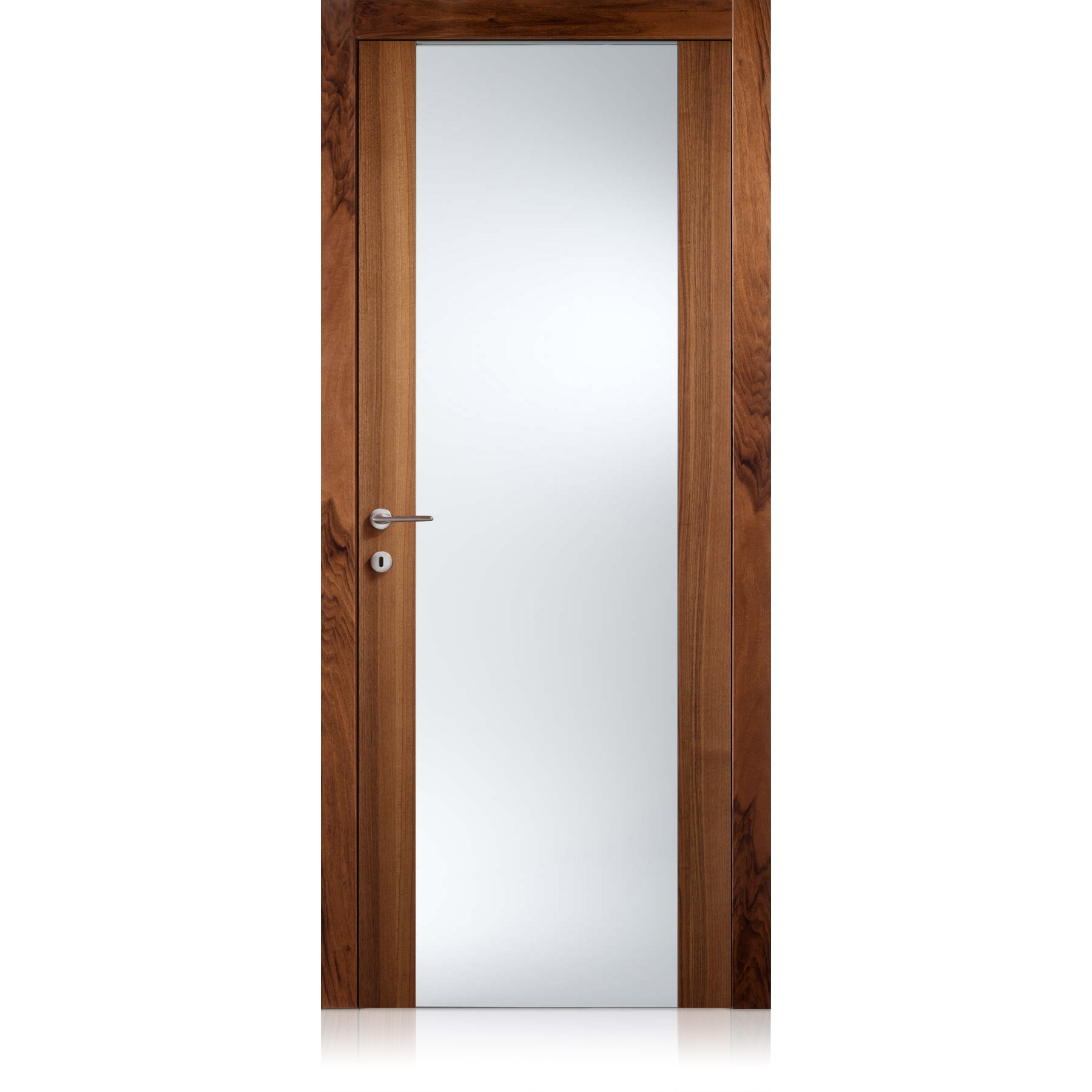 Porta Glass noce nazionale