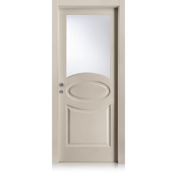 Porta Kevia / 8 cristallo point satinato extrachiaro