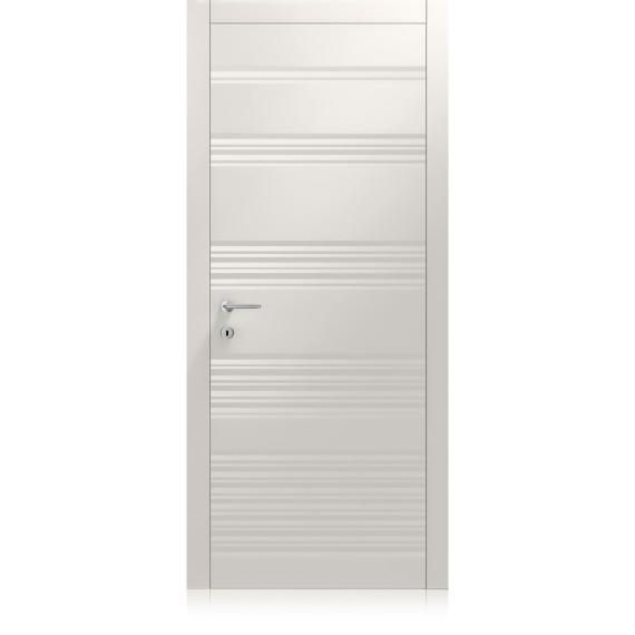 Plissè Vario grigio lux door