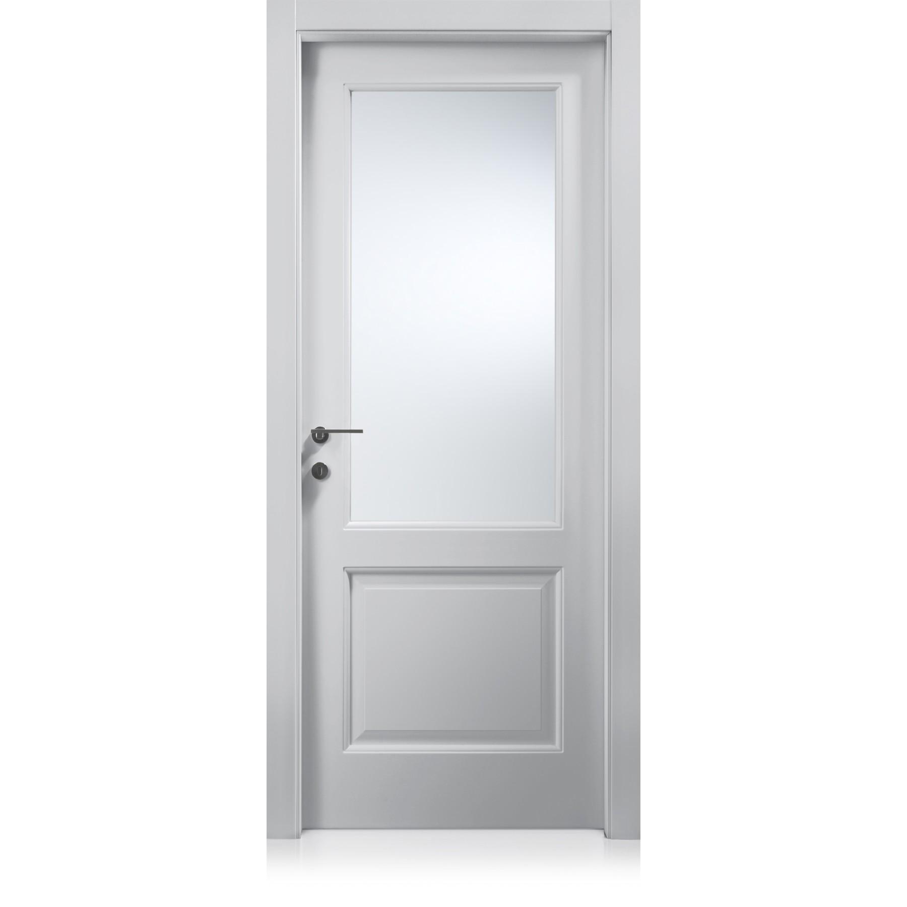 Talento Inciso quadrettato triple engraving glass door