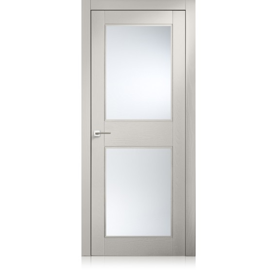 Tür Intaglio / 2 trame grigio lux