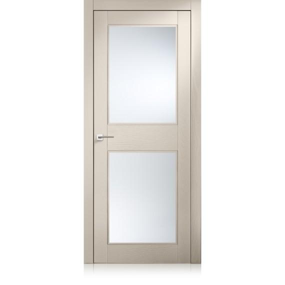 Porta Intaglio / 2 trame tortora
