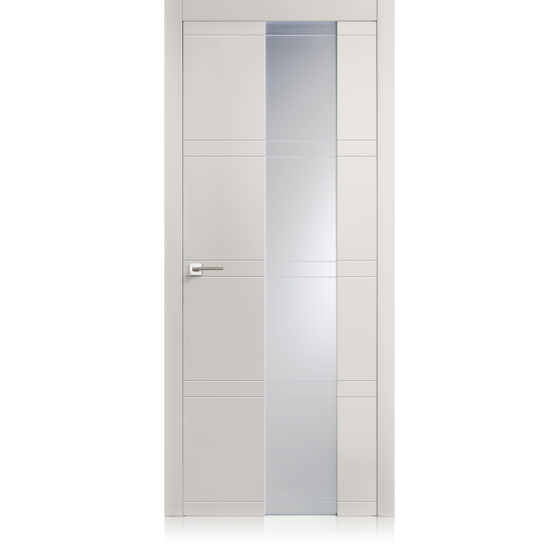 Porta Intaglio / 10 Vetro grigio lux