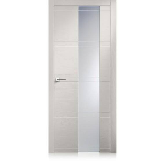 Porta Intaglio / 10 Vetro trame grigio lux