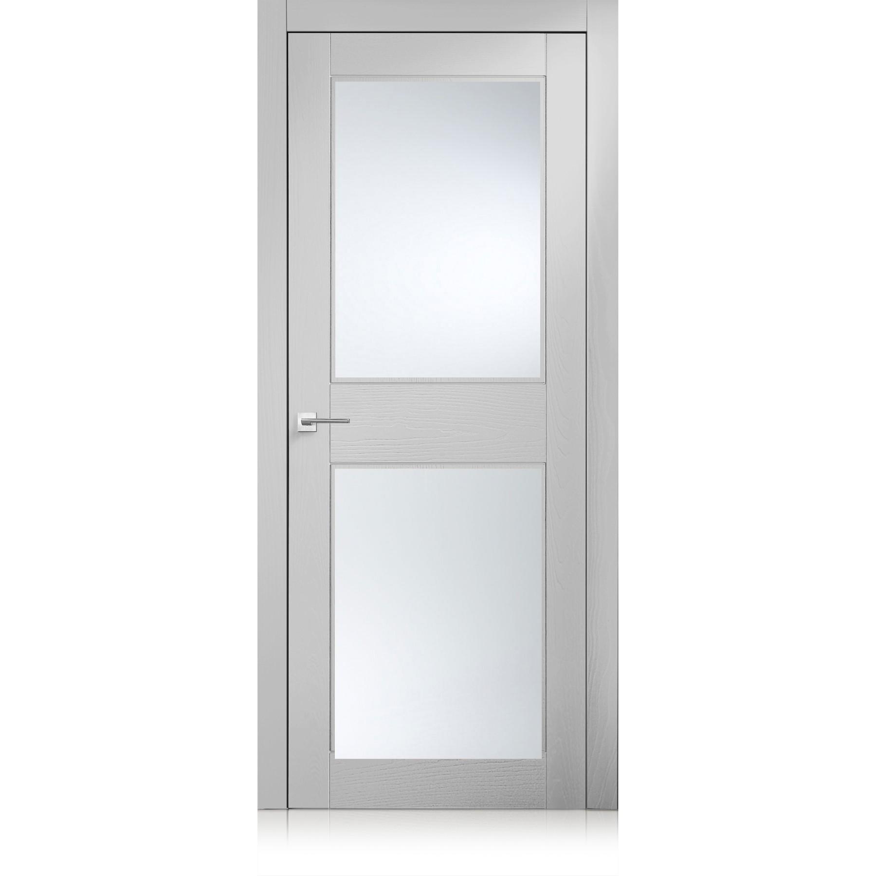 Tür Intaglio / 2 trame bianco