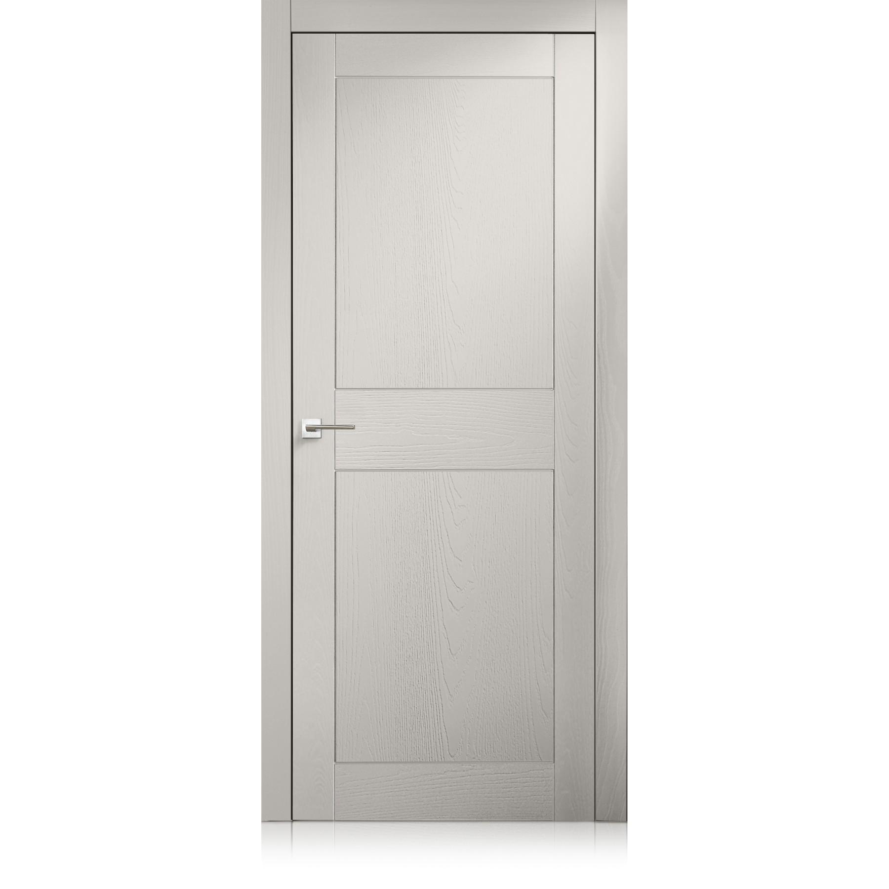 Porta Intaglio / 2 trame grigio lux