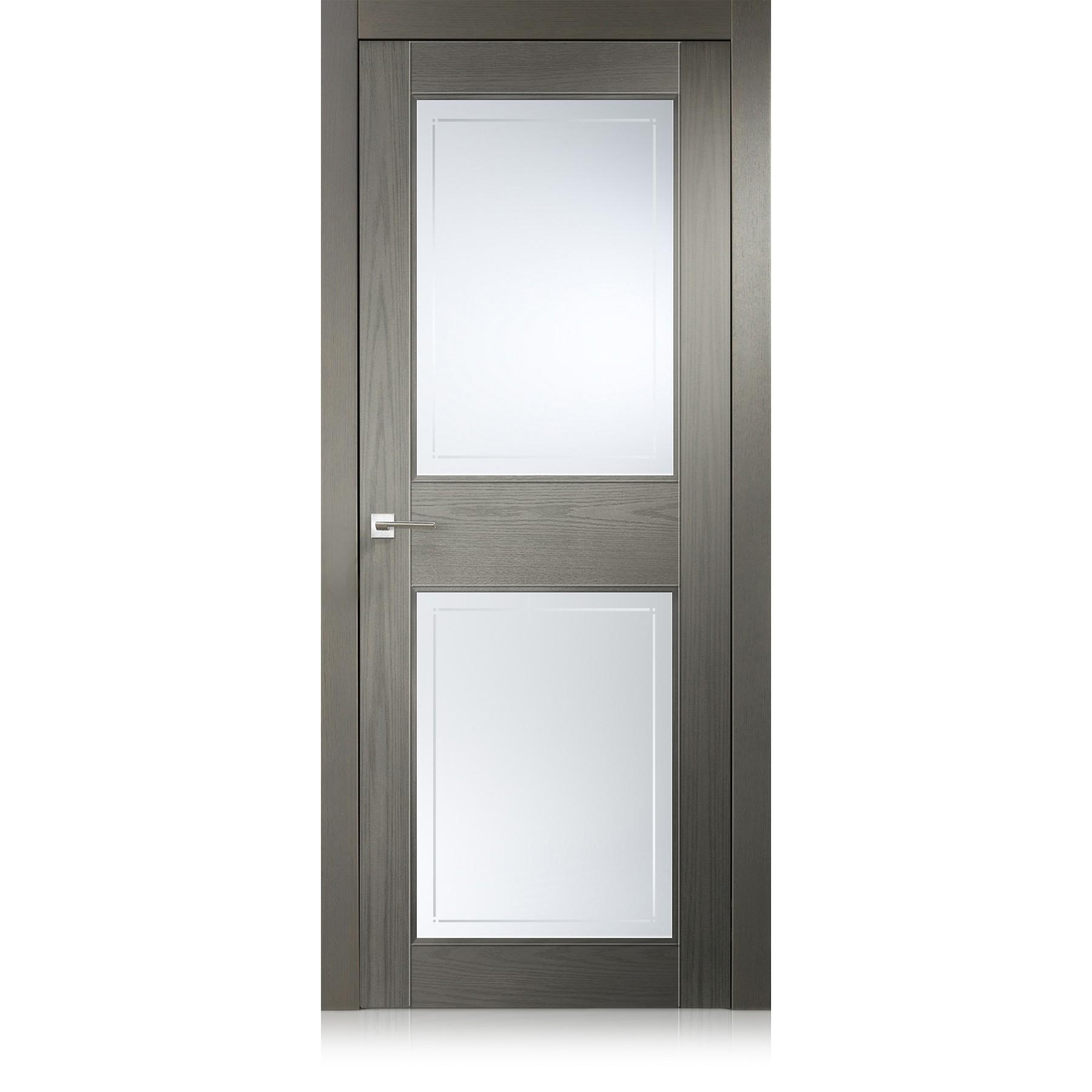 Porta Intaglio / 2 ecorovere grigio