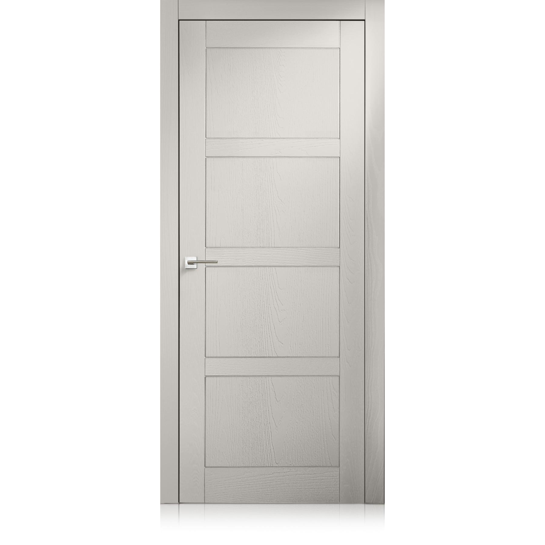 Porta Intaglio / 4 trame grigio lux