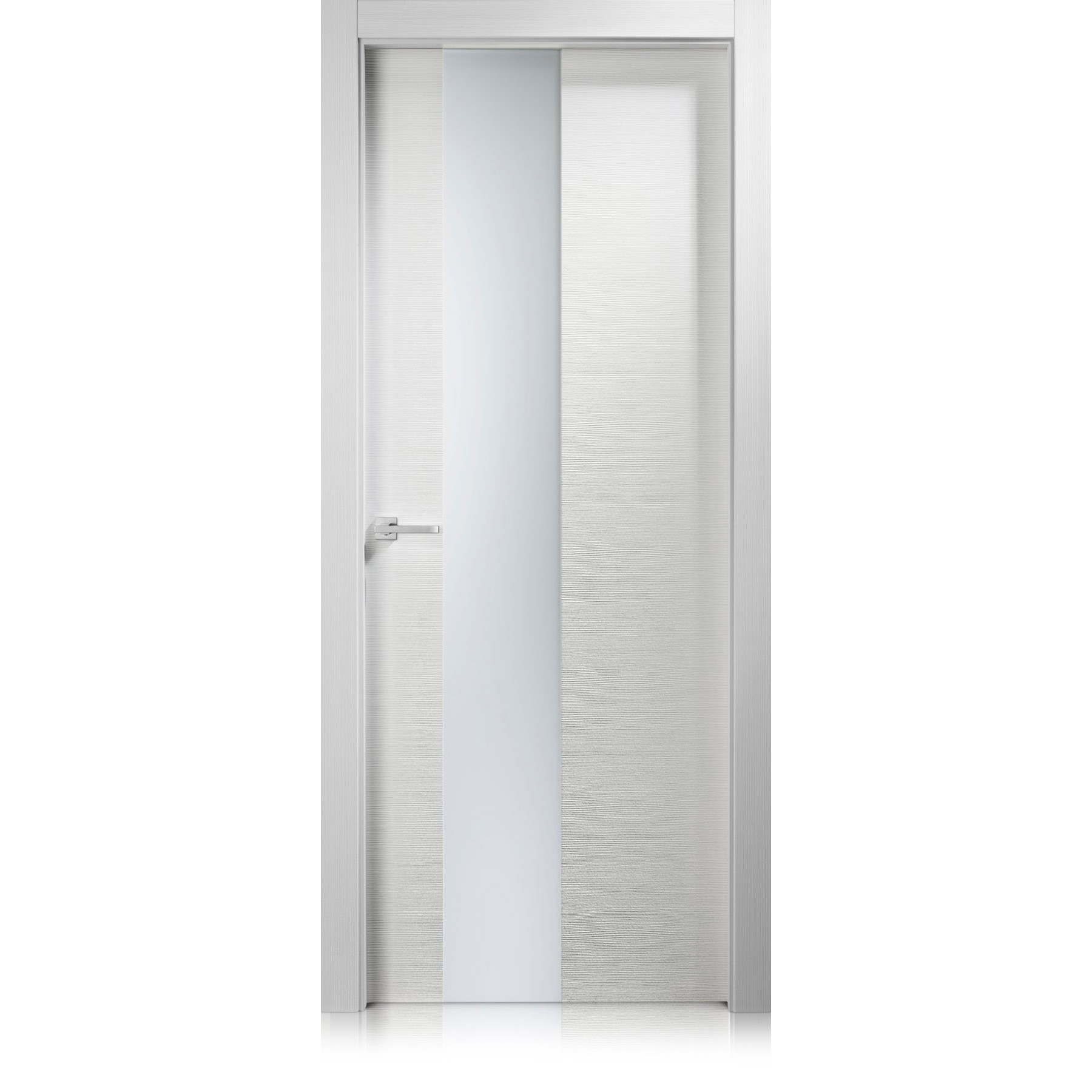 Logica Vetro transparent / frosted glass door