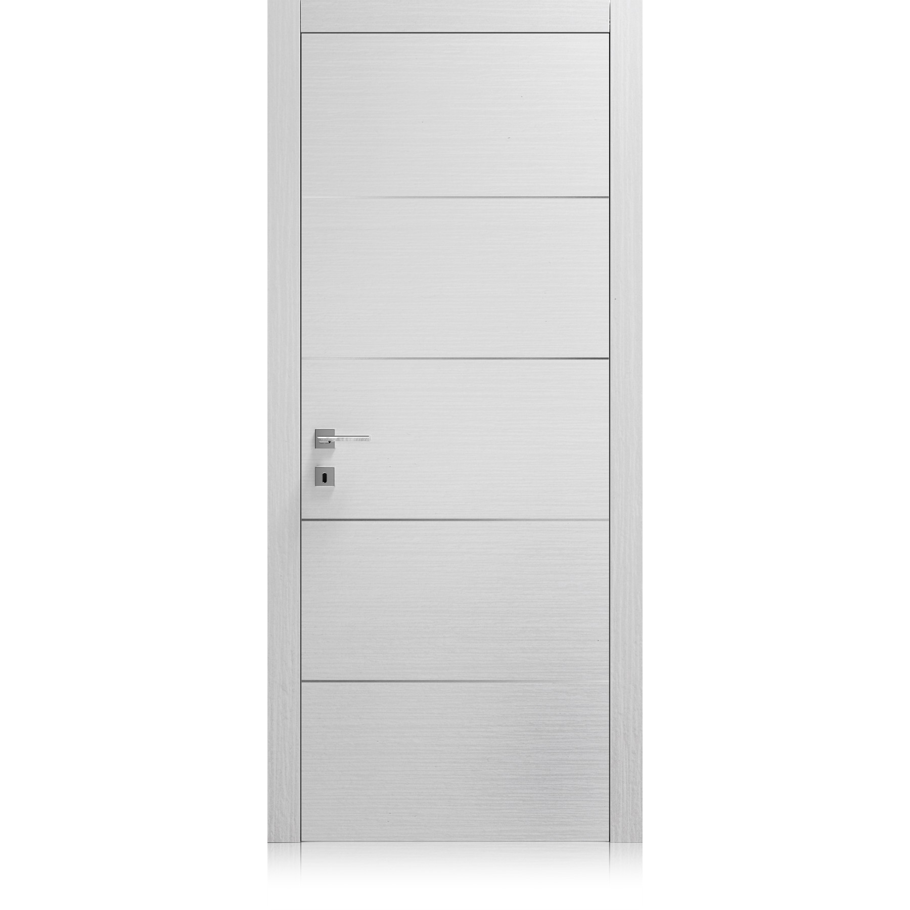 Porta Logica / 4 materic bianco