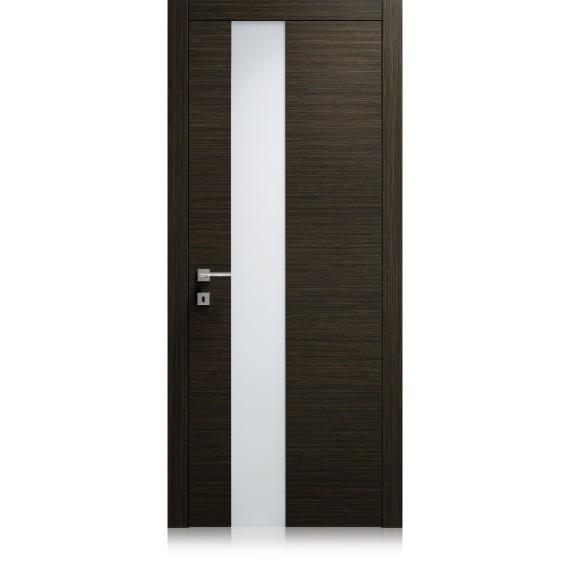 Logica Vetro Strip transparent extraclear glass door