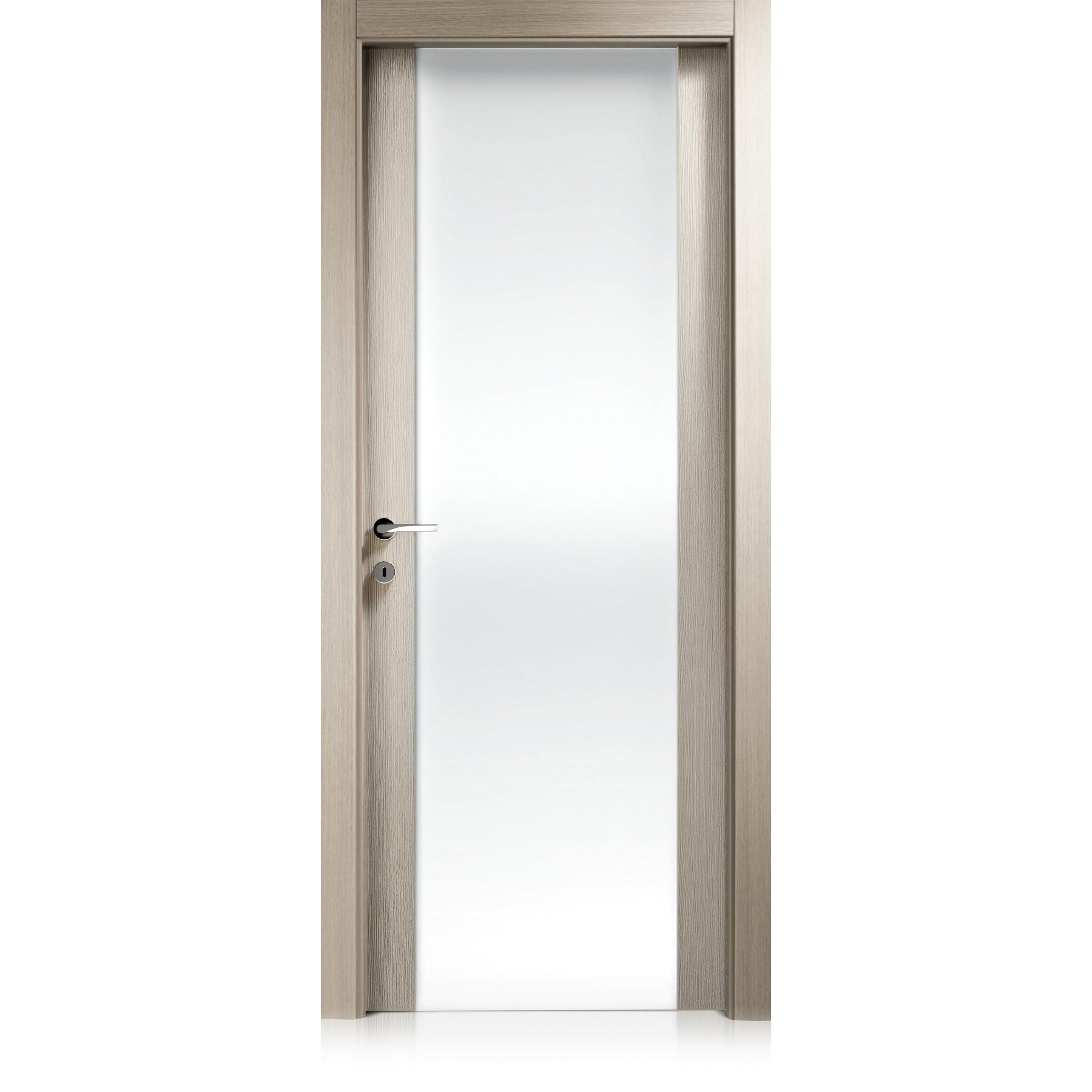 Porta Liss Vetro Large grafis beige