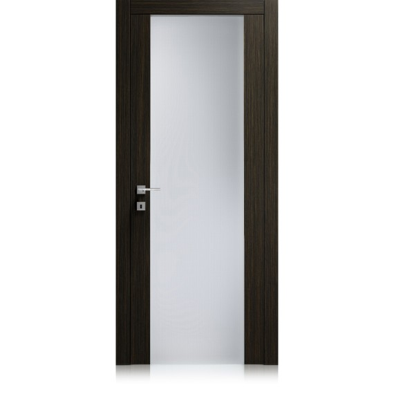 Porta Liss Vetro Large materic noir