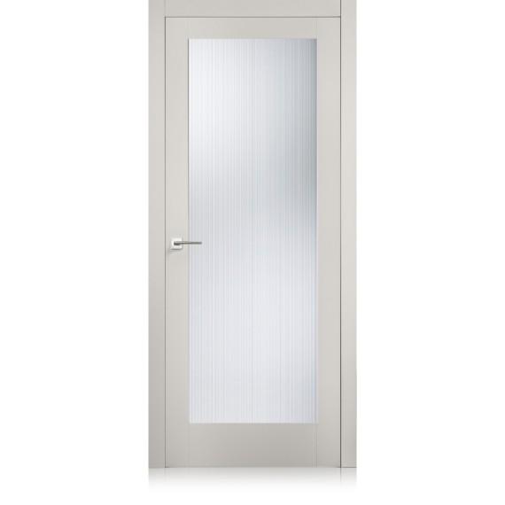 Porta Suite / 21 cristallo inciso quadrettato