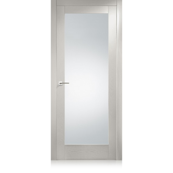 Suite / 21 transparent / frosted glass door