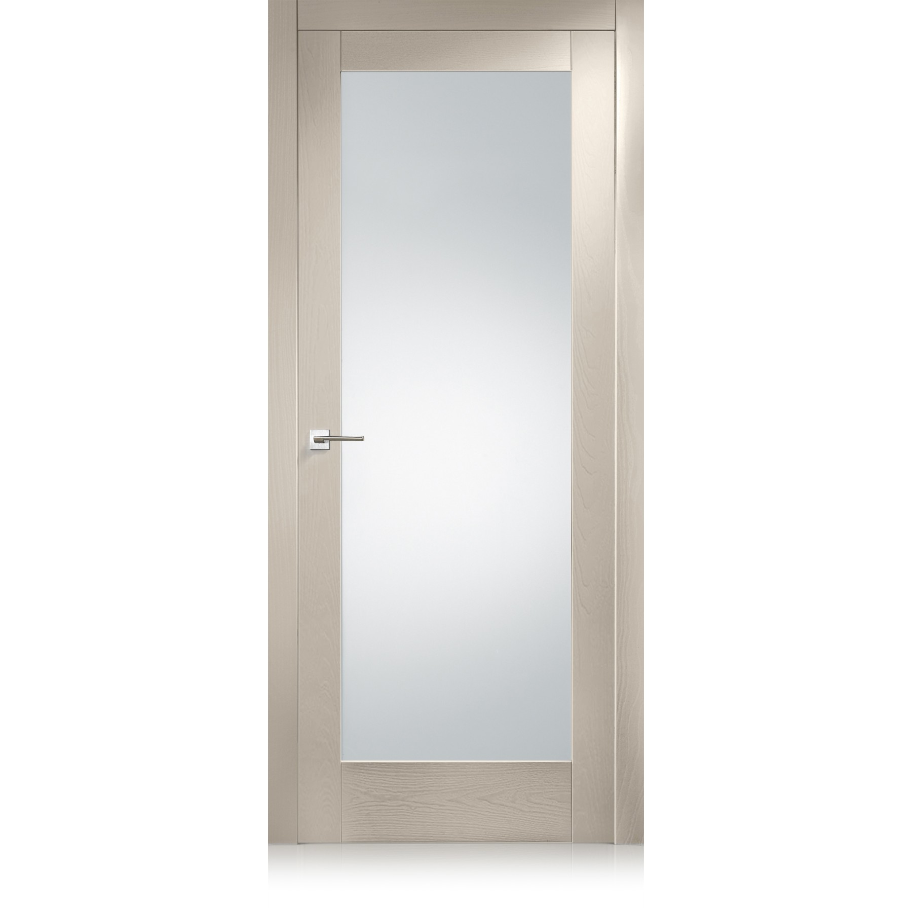 Suite / 21 Point frosted extraclear glass door