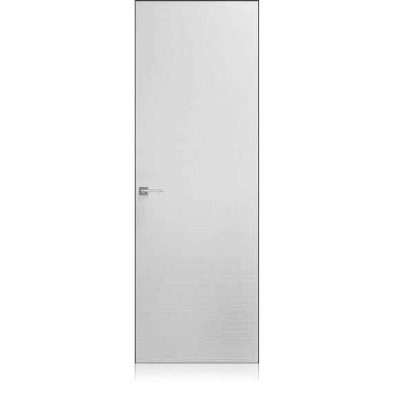 Logica Zero materic bianco door