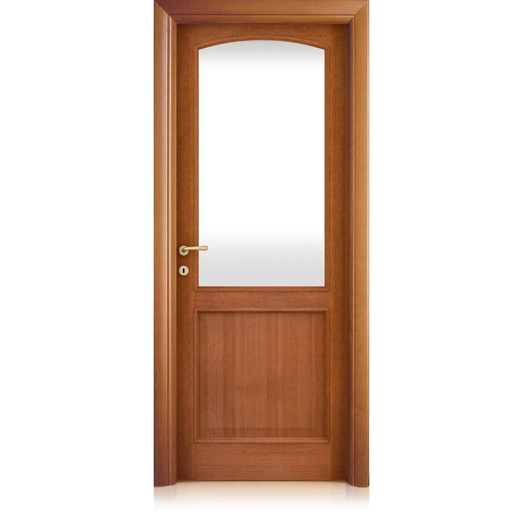 Magika Inciso quadrettato glass door