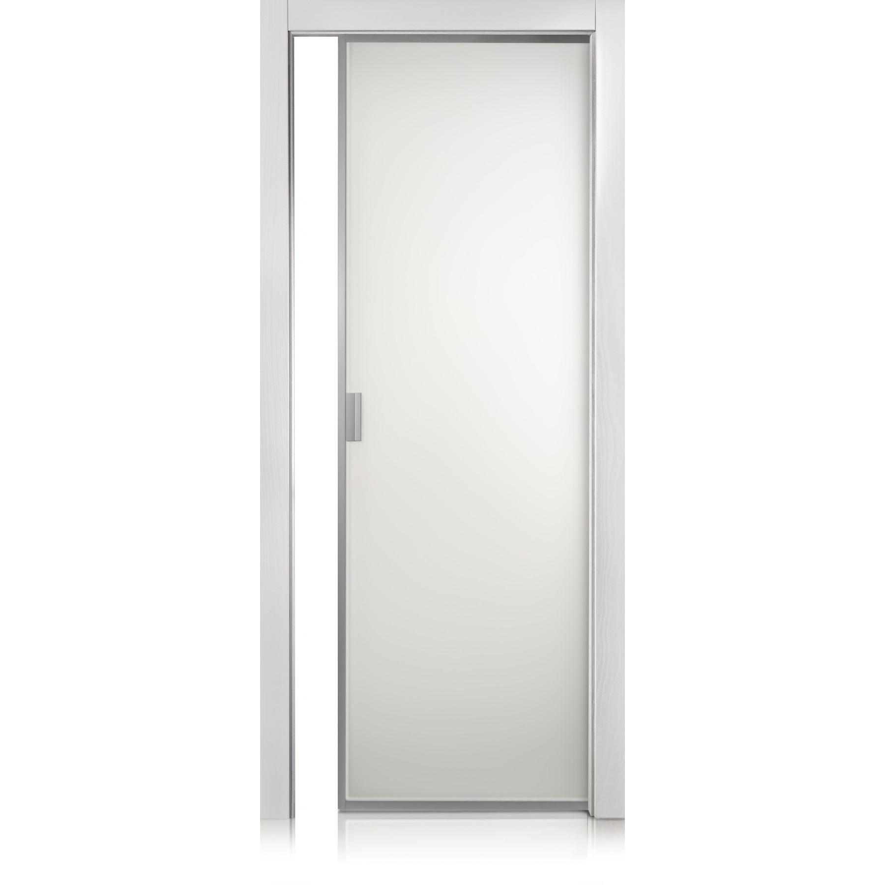 Cristal Frame trame bianco door