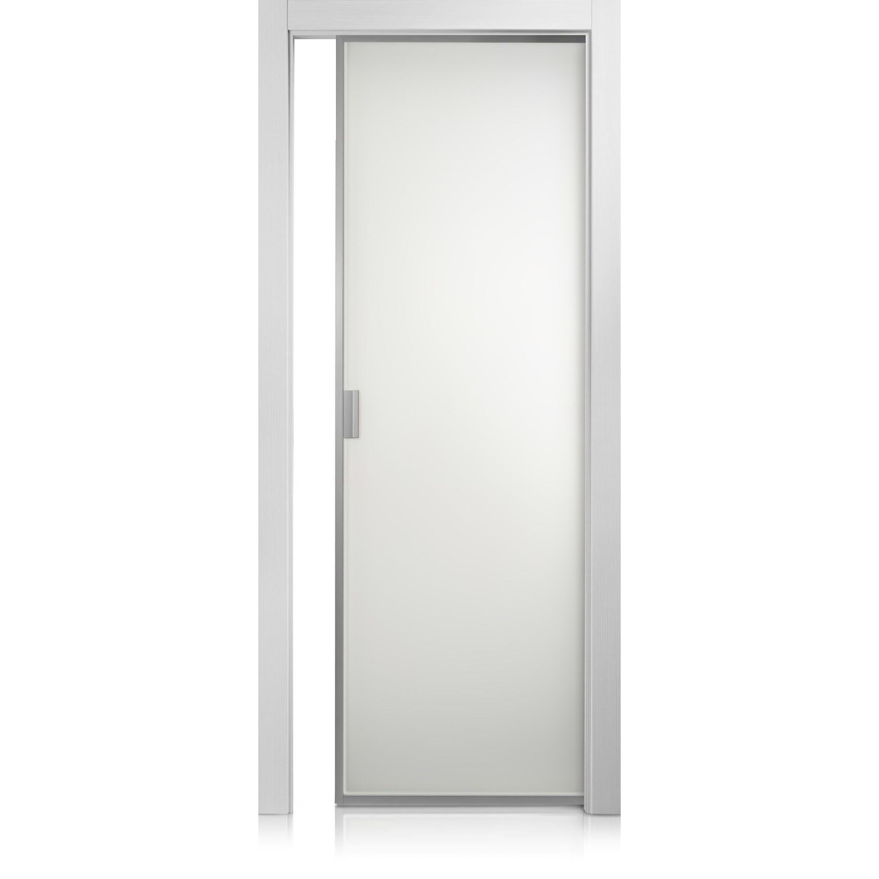 Porte Cristal Frame grafis bianco