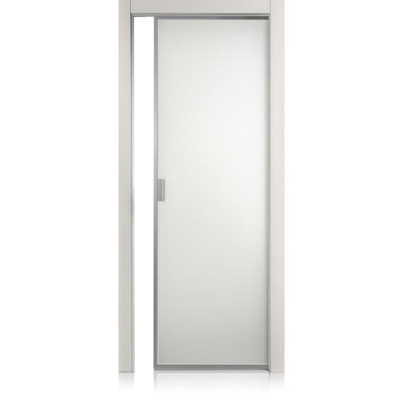 Cristal Frame grigio lux door