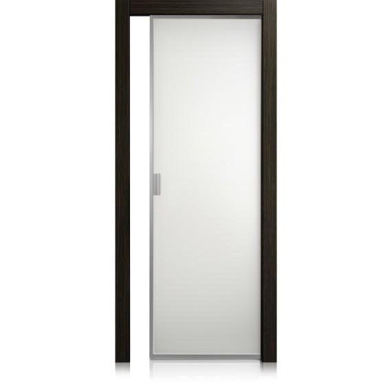 Porte Cristal Frame materic noir