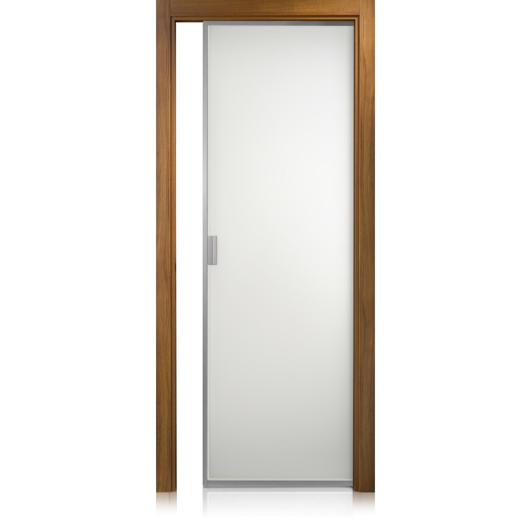Cristal Frame noce door