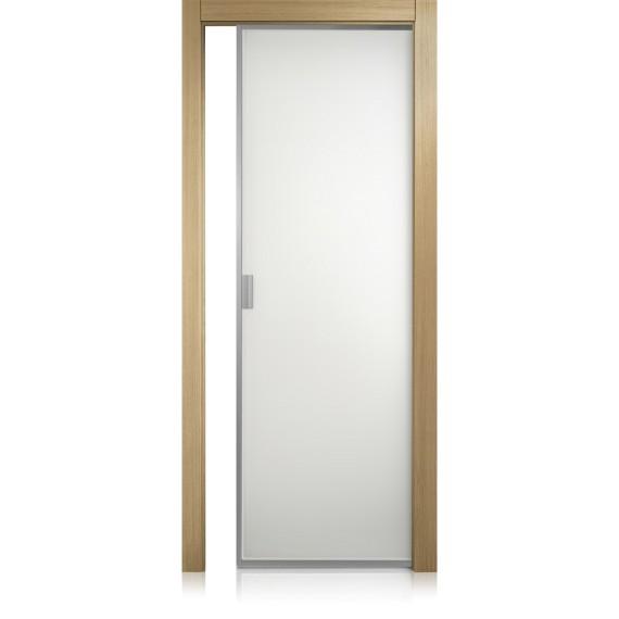 Porta Cristal Frame rovere gold