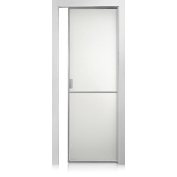 Cristal Frame / 1 grafis bianco door