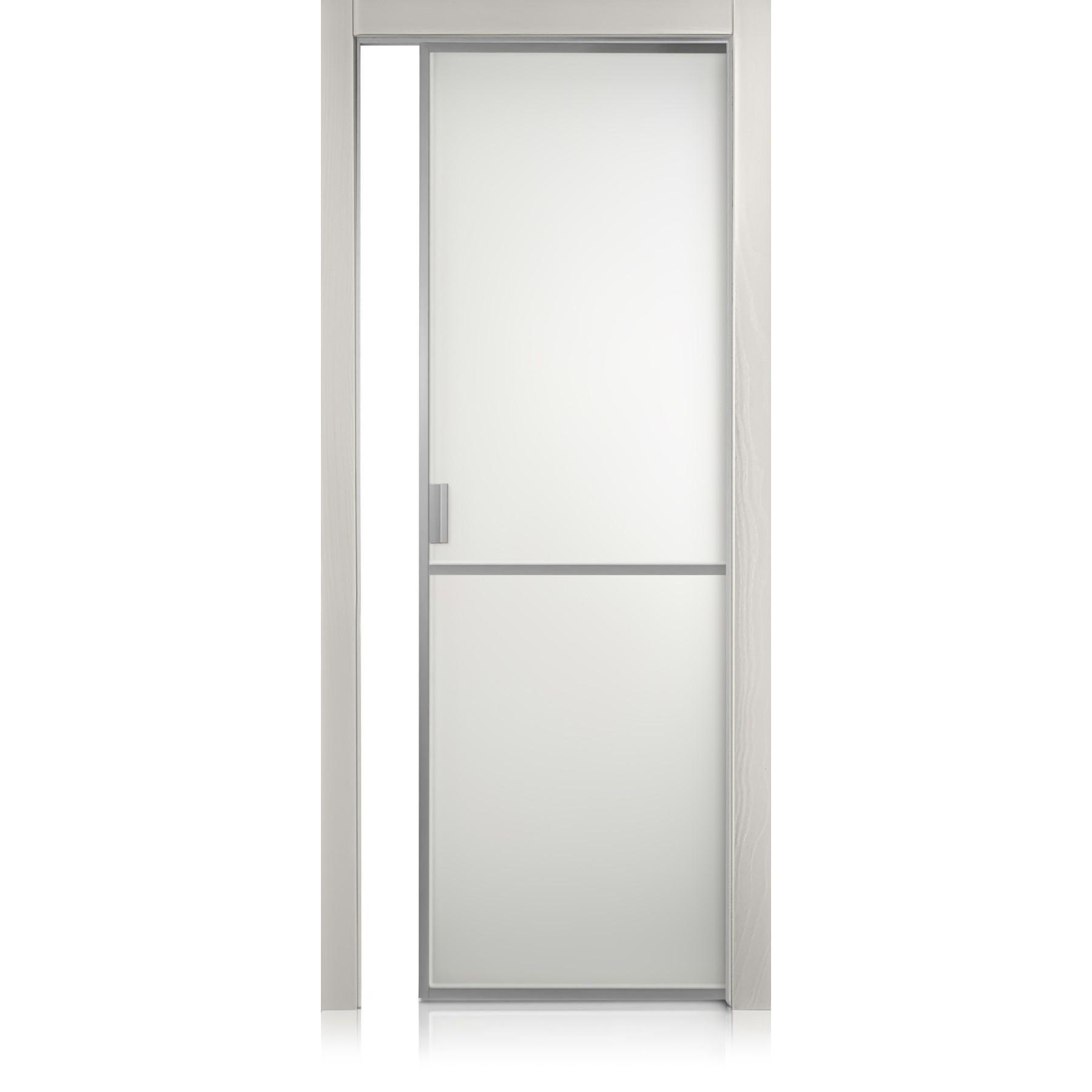 Tür Cristal Frame / 1 trame grigio lux