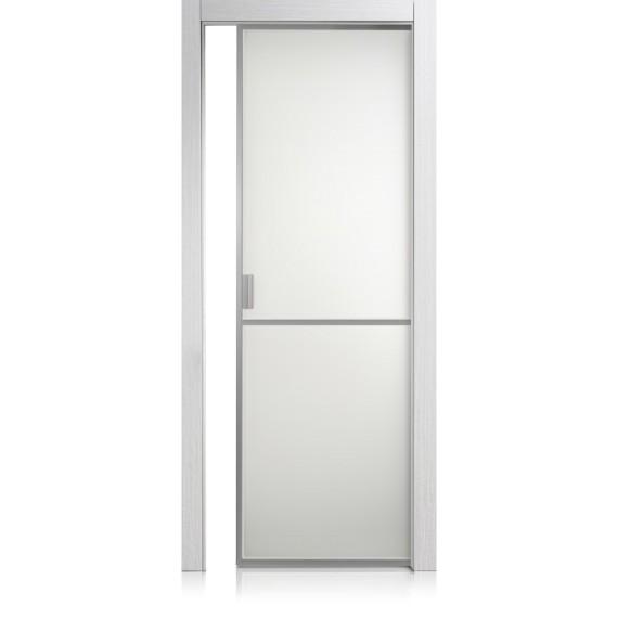 Tür Cristal Frame / 1 materic bianco