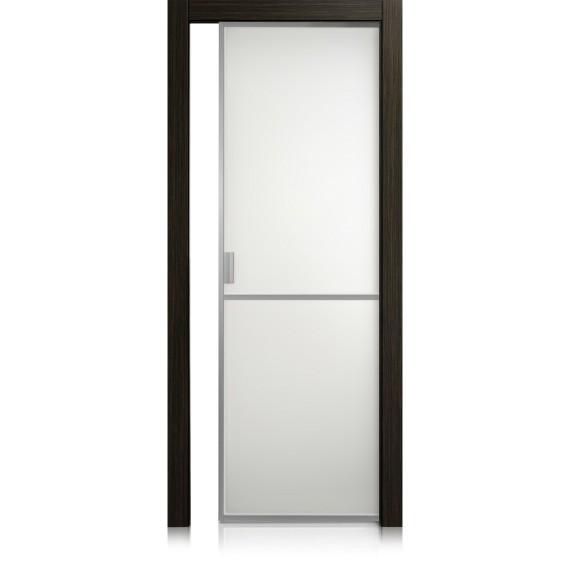 Porte Cristal Frame / 1 materic noir