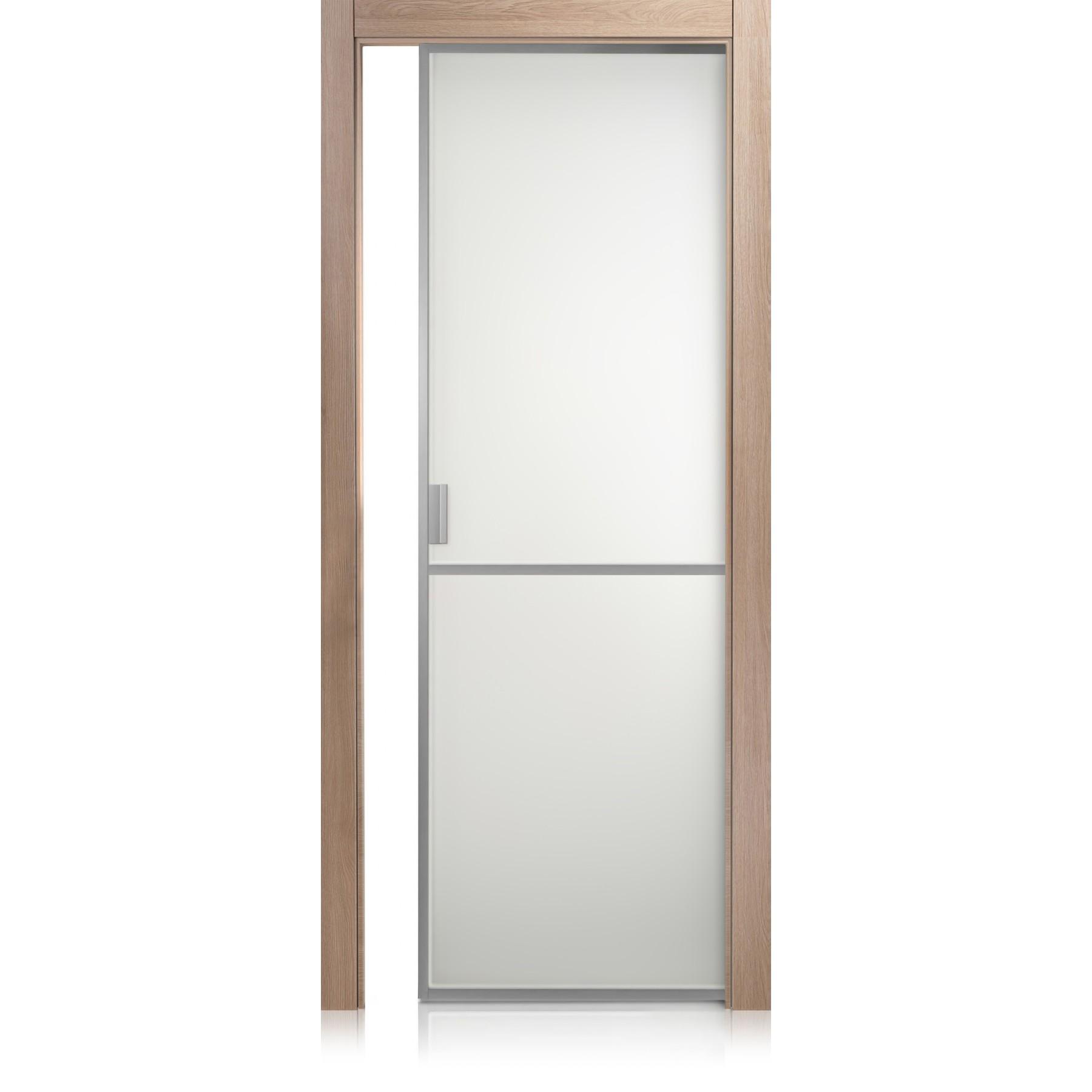 Tür Cristal Frame / 1 Glas Zweifarbig (in verschiedenen Farben erhältlich)