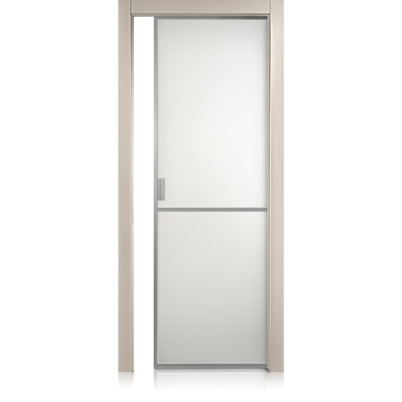 Cristal Frame / 1 trame tortora door
