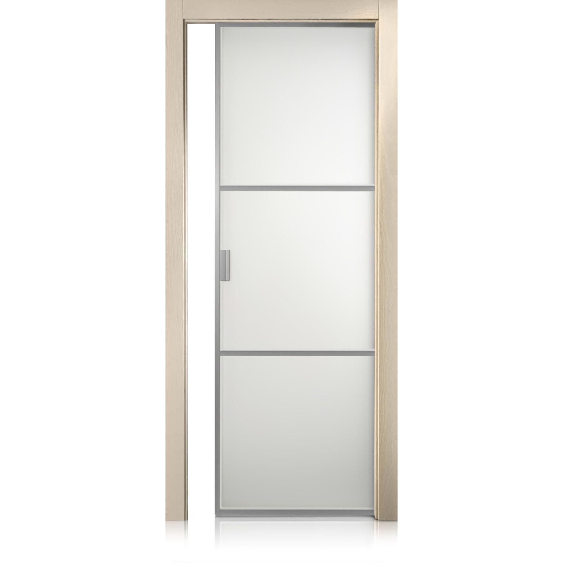 Cristal Frame / 2 trame cremy door