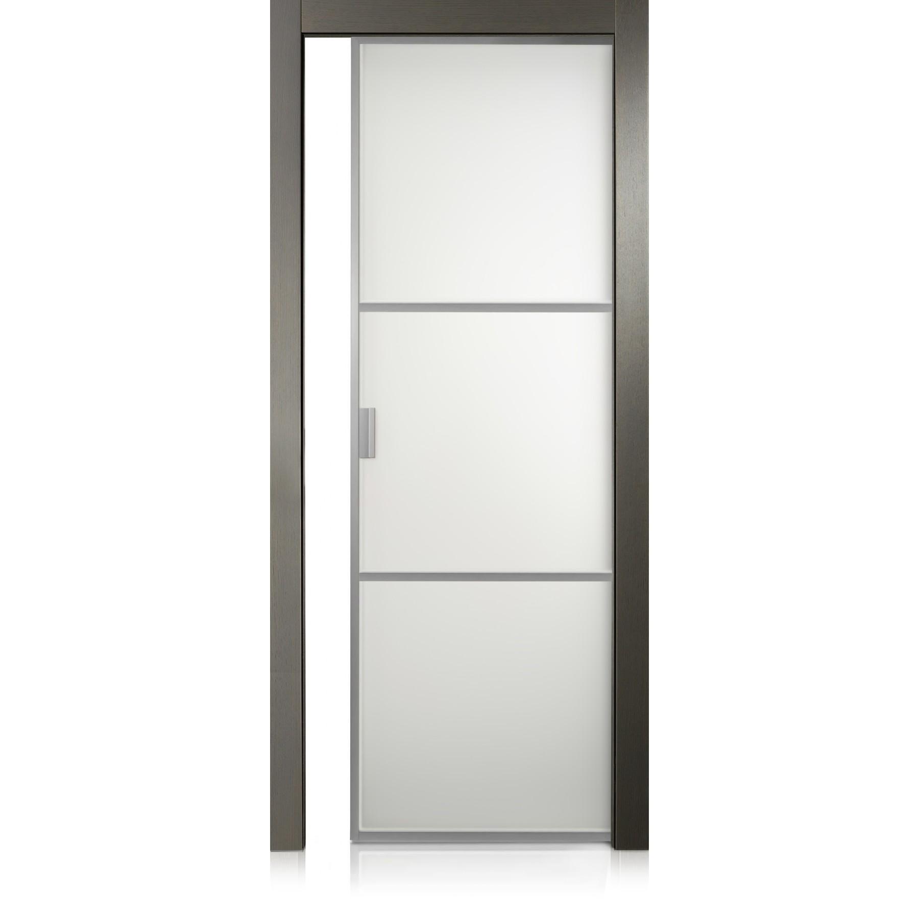 Cristal Frame / 2 ecorovere grigio door