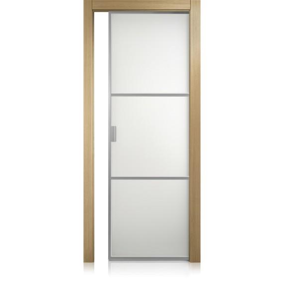 Porta Cristal Frame / 2 rovere gold