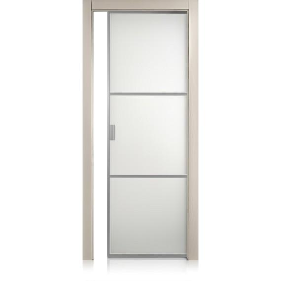 Porta Cristal Frame / 2 trame tortora