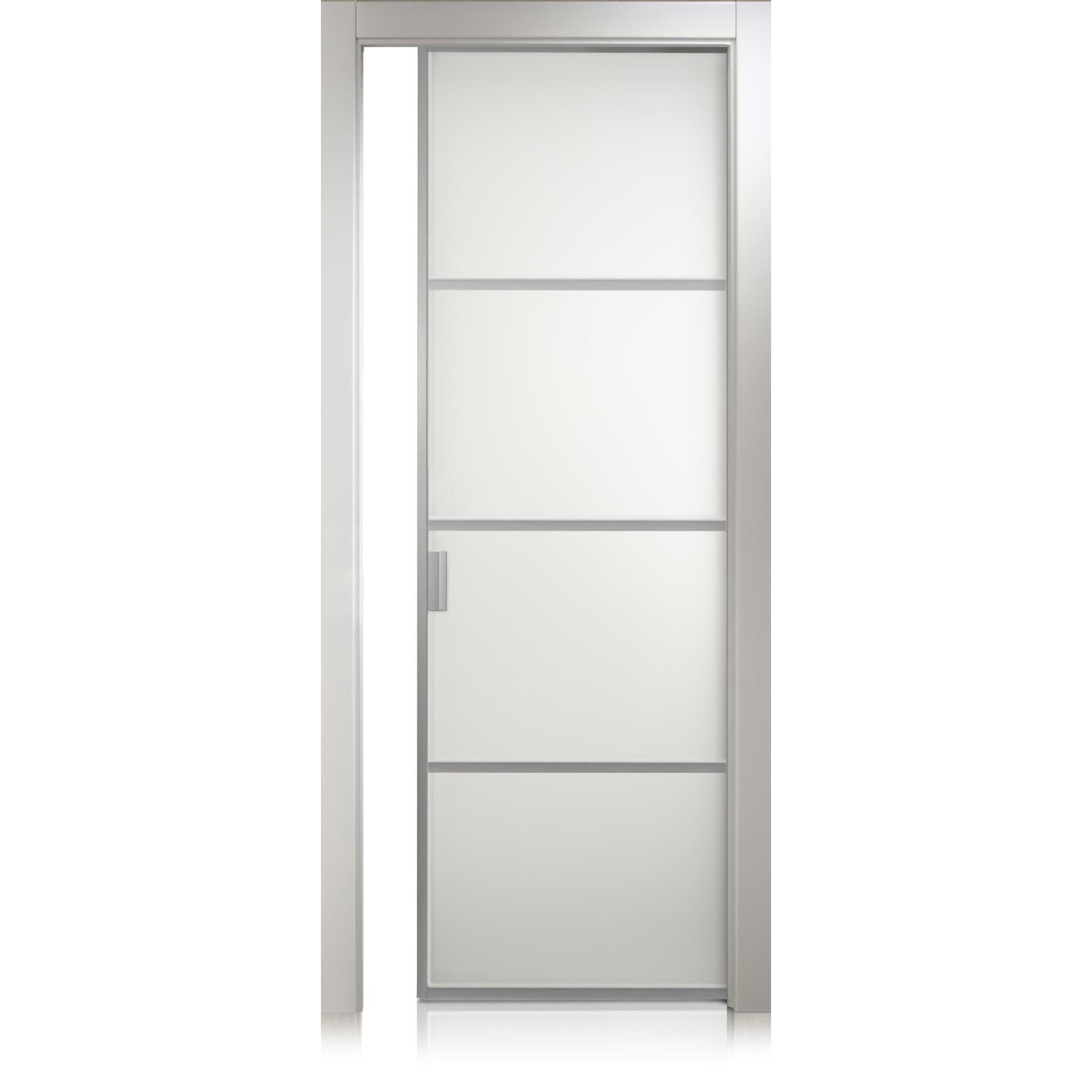Porta Cristal Frame / 3 bianco