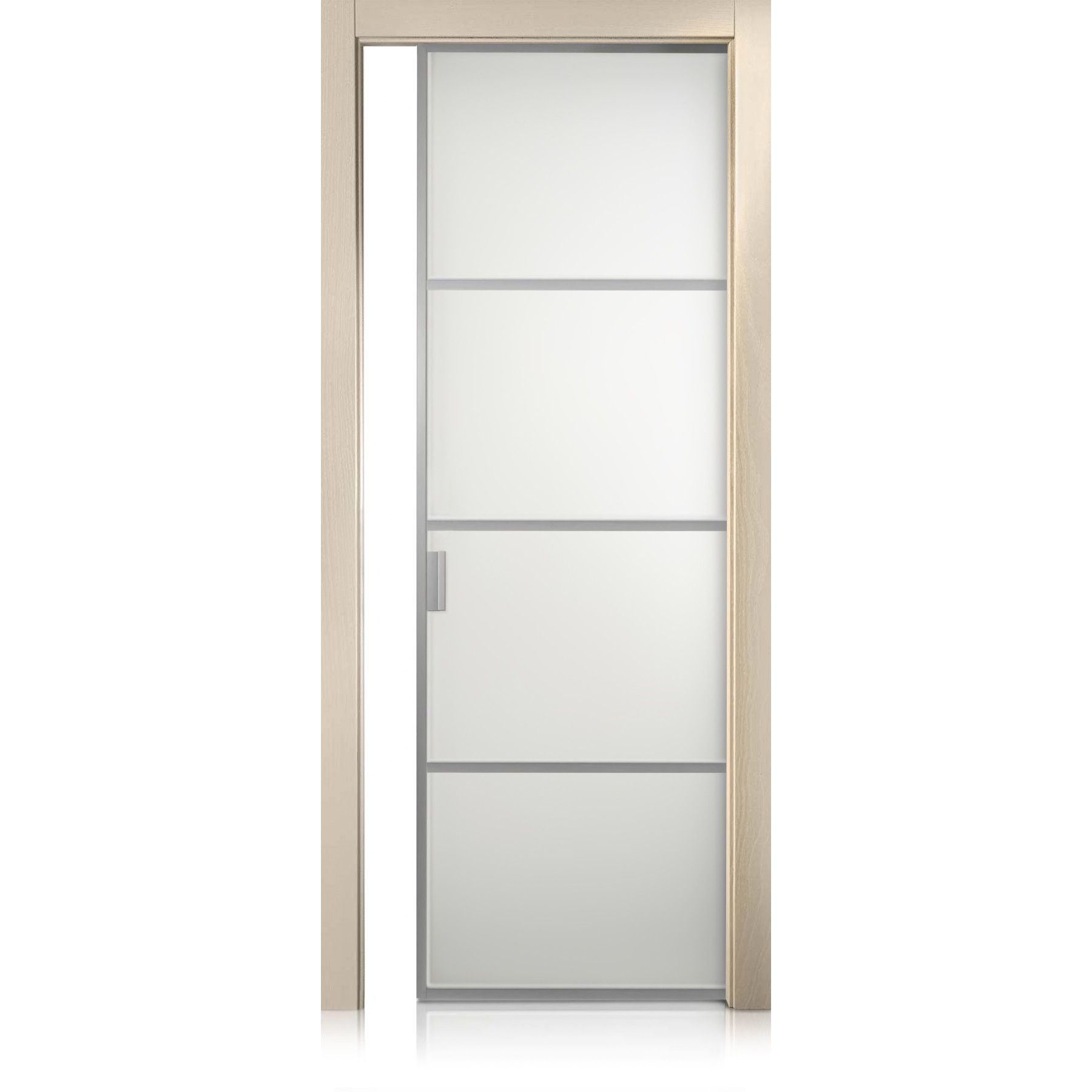 Porta Cristal Frame / 3 trame cremy