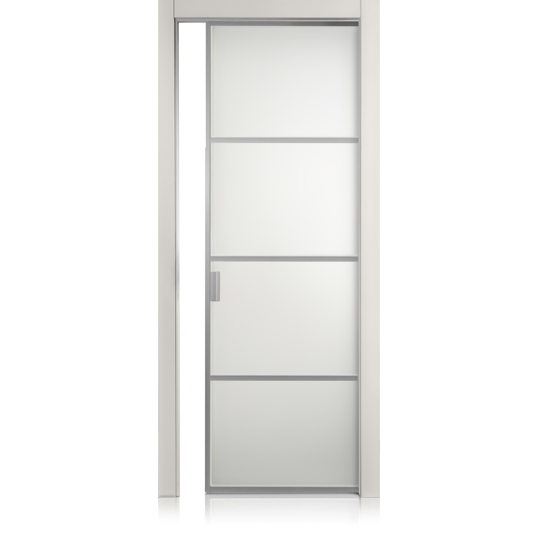 Cristal Frame / 3 grigio lux door