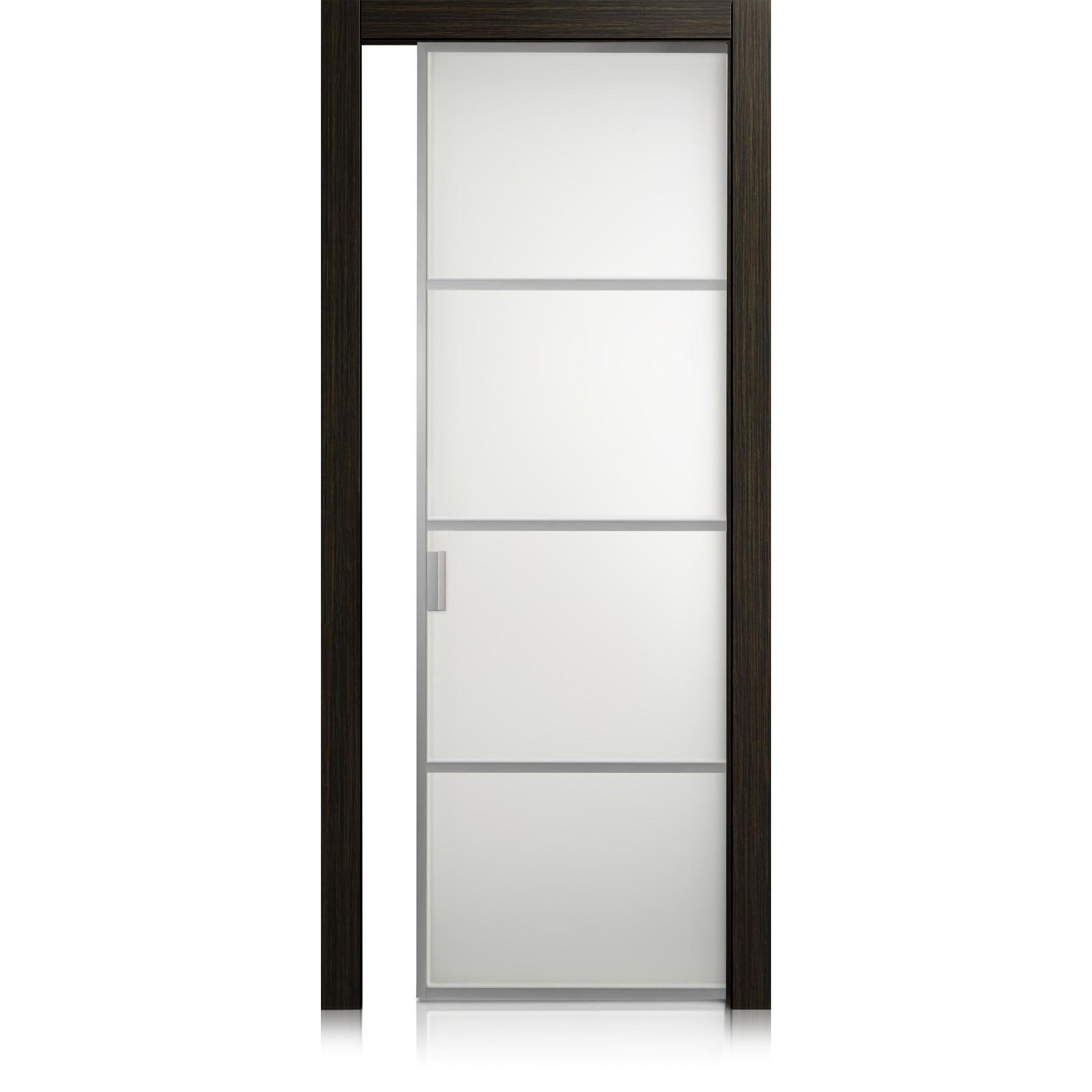 Porta Cristal Frame / 3 materic noir