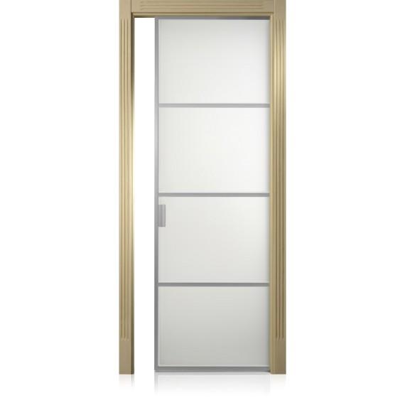Porte Cristal Frame / 3 Patiné crema