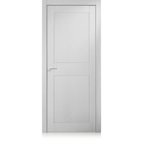 Porta Intaglio / 2 trame bianco optical