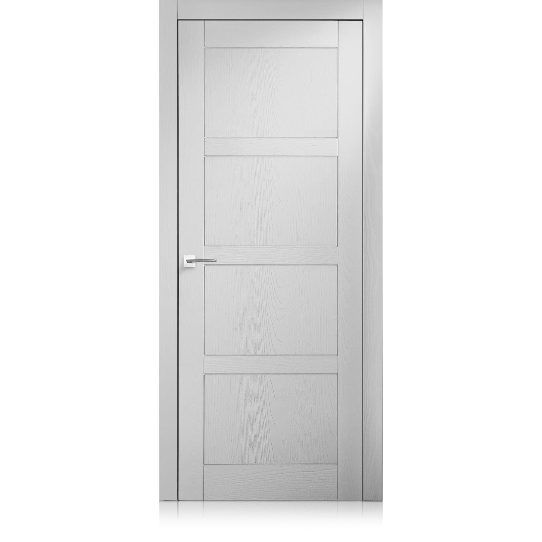 Intaglio / 4 trame bianco optical door