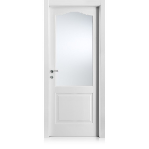 Kevia / 4 bianco optical door