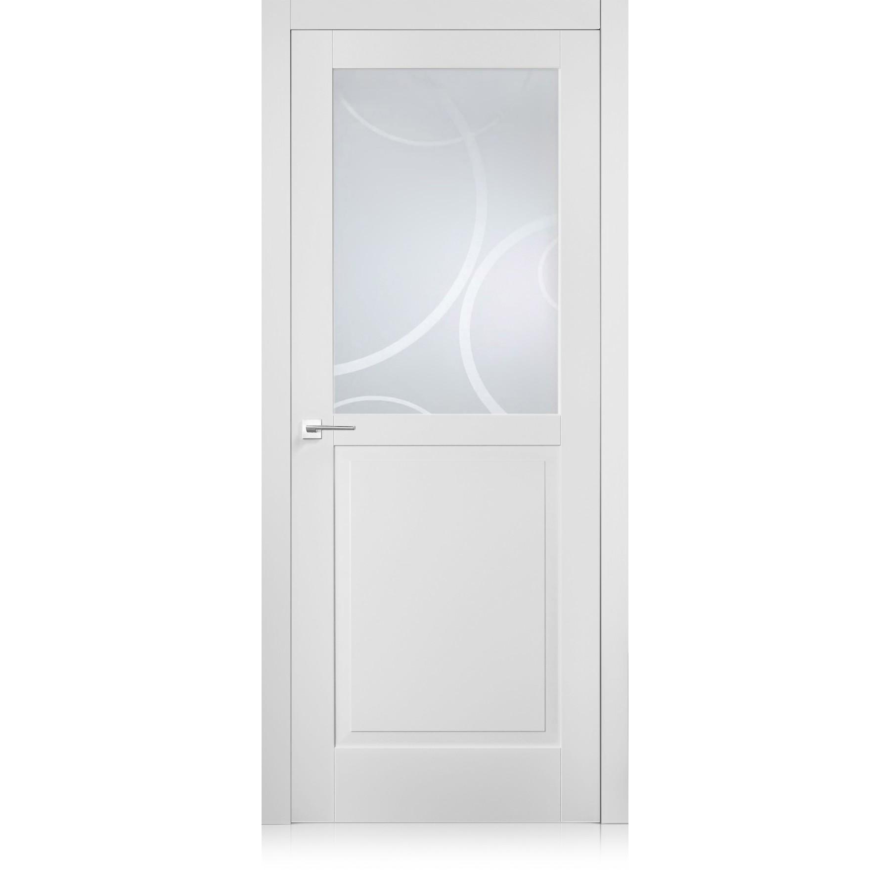 Porte Suite / 4 bianco optical