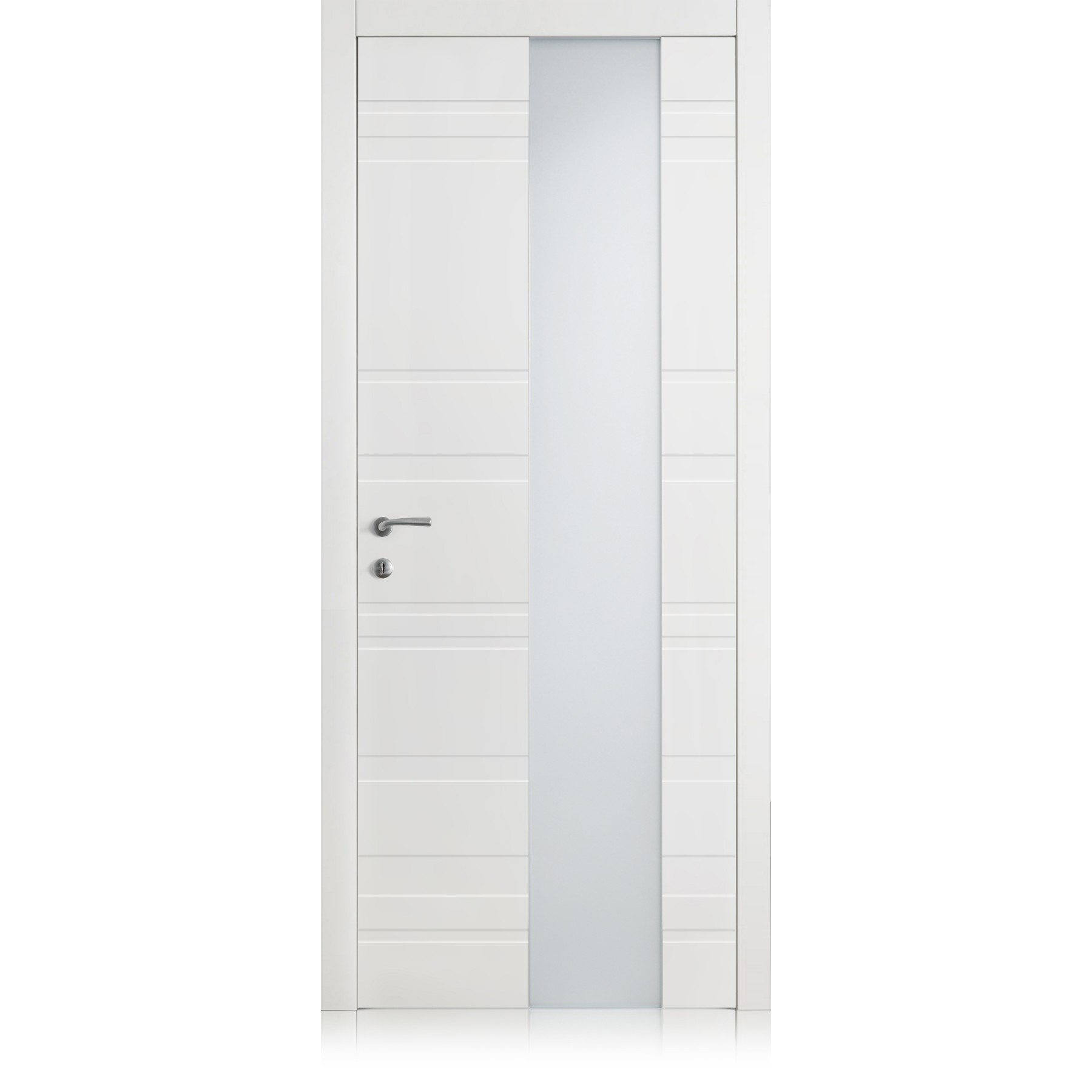 Yncisa Styla Vetro bianco optical door
